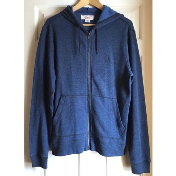 c7b08fa9431 Original Penguin Munsingwear Sweatshirt Zip Hoodie.  M 5a95a2e246aa7c1eb53efa10